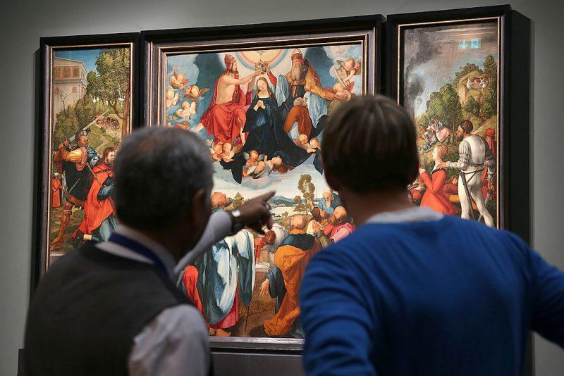 Ein echter Dürer auf dem Crailsheimer Altar?
