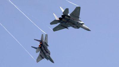 Israel fliegt erneut Luftangriffe auf Ziele im Gazastreifen