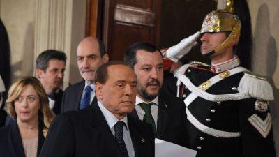 """""""Arcore Pakt"""" in Italien geschmiedet: Berlusconi und Salvini besiegeln Mitte-Rechts-Föderation"""