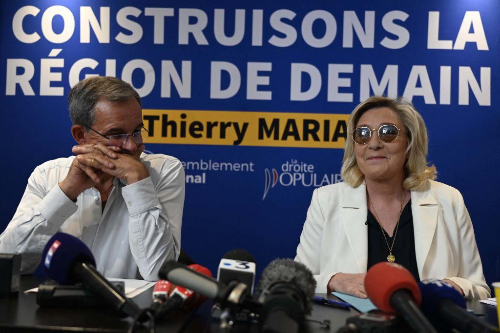 Le Pen setzt auf Sieg bei Regionalwahlen in Frankreich