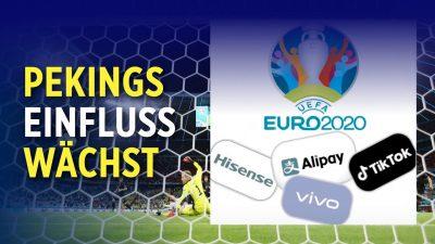 Besorgnis in Europa: China ist größter Sponsor der Fußball-EM