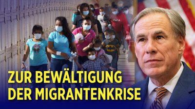 Migrantenkrise an der US-Grenze: Texas will eigene Grenzmauer bauen