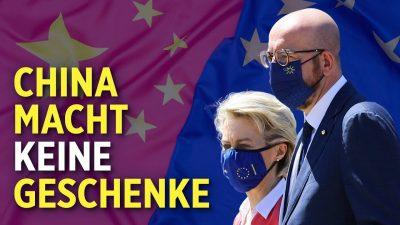 Investitionsabkommen mit China auf Eis gelegt: Spannungen zwischen China und EU nehmen zu