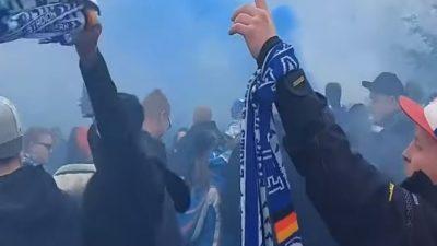 Keine Corona-Fälle nach Megaparty: Tausende feierten ohne Masken und Abstand den FC Hansa Rostock