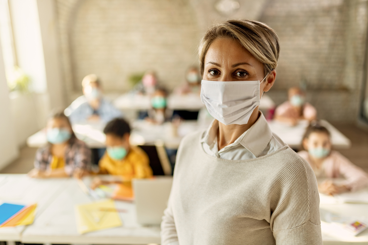 Charité-Studie: Trieb Corona-Angst der Lehrer Schulen in die Lockdowns?