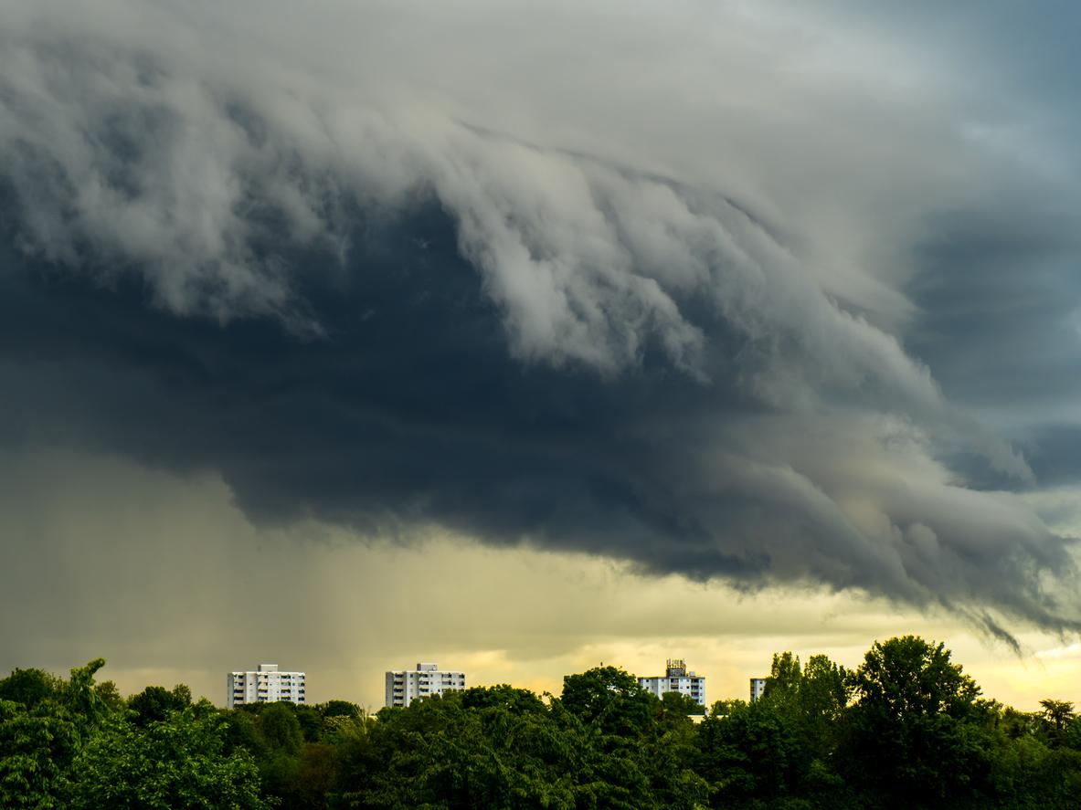 """""""Land unter"""" im Südwesten: Heftige Unwetter sorgen für Überschwemmungen und Unfälle"""