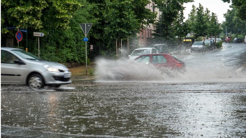 Folgenschwere Unwetter mit Sturmböen und heftigem Regen
