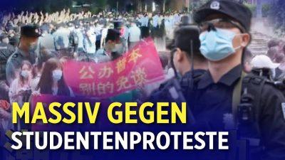 China: Polizei beendet gewaltsam Studentenproteste