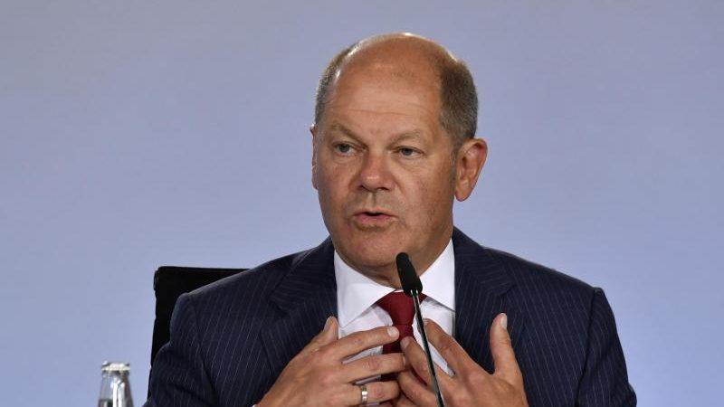 Scholz sieht Schub für die Konjunktur durch EU-Corona-Hilfen