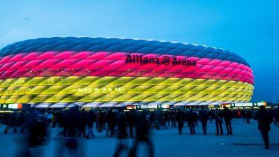 «Bild»: EM-Spiele in München vor rund 14.000 Zuschauern