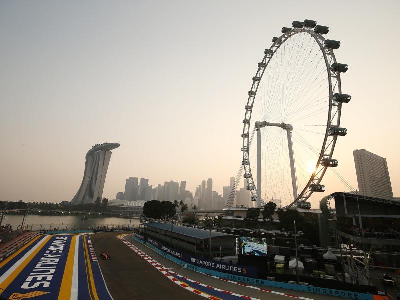 Formel-1-Rennen in Singapur abgesagt
