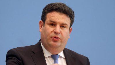 Heil: 38 Milliarden Euro für Corona-Kurzarbeitergeld ausgegeben