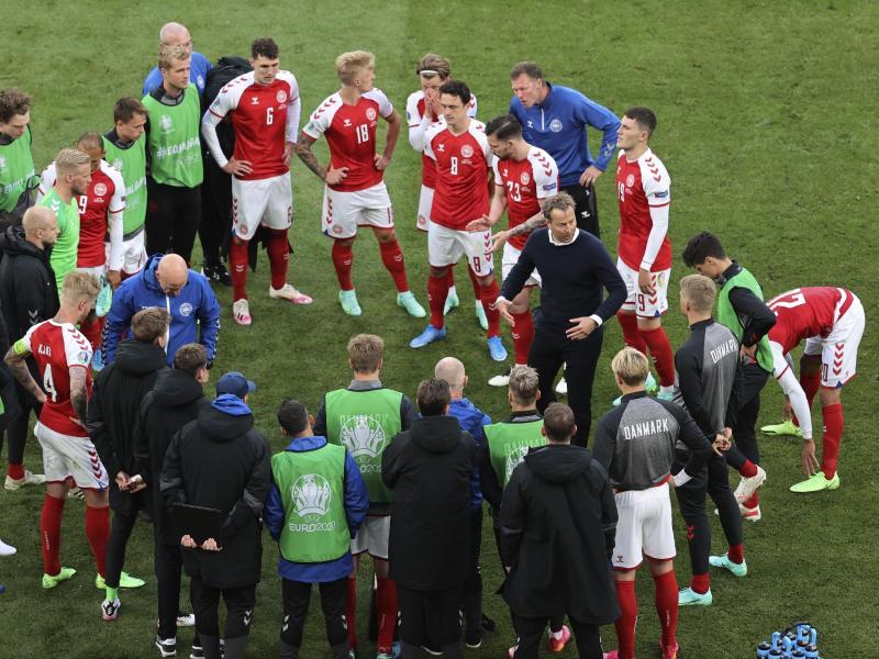 Nach Eriksen-Kollaps: Dänische Spieler sichtlich unter Schock – Psychologische Hilfe für das Team