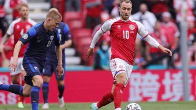 """Dänischer Fußball-Nationalspieler Eriksen """"scherzt und ist guter Stimmung"""""""