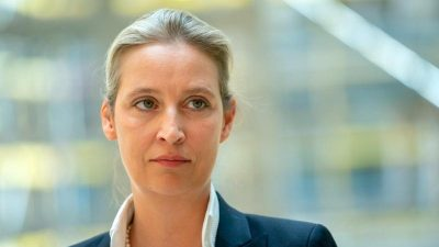Verfahren gegen AfD-Politikerin Weidel wegen Auslandsspende eingestellt