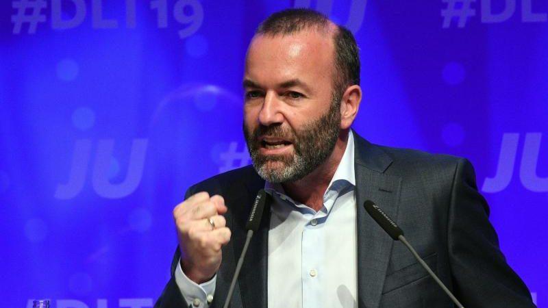 CSU-Politiker Weber warnt vor Flüchtlingswelle