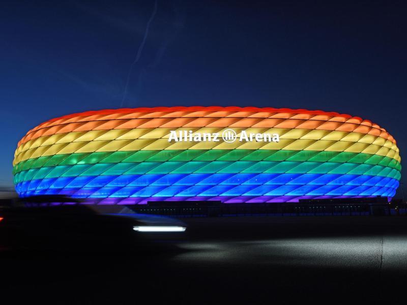 Regenbogen-Beleuchtung: UEFA lehnt Antrag für München ab – nun wollen andere Stadien Zeichen setzen