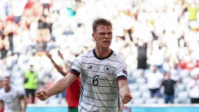 Erste EM-Party: DFB-Elf feiert 4:2 gegen Portugal
