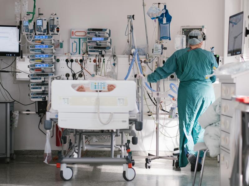 Anteil der geimpften Covid-Patienten auf Intensivstationen gestiegen