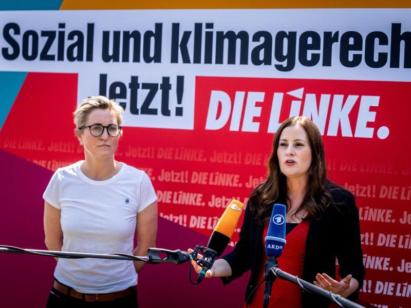 """Linke will Union als Regierungspartei ablösen:  """"Die sollen raus aus der Regierung"""""""