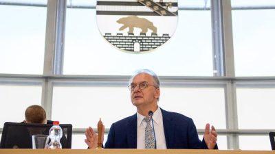 Sachsen-Anhalt: CDU und SPD sprechen über Zusammenarbeit