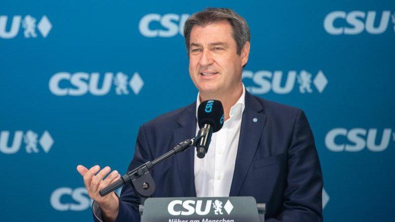 Söder lädt CDU-Ministerpräsidenten für Dienstag zu Corona-Konferenz