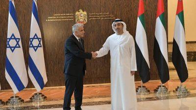 Israel und Emirate schließen Handelsabkommen
