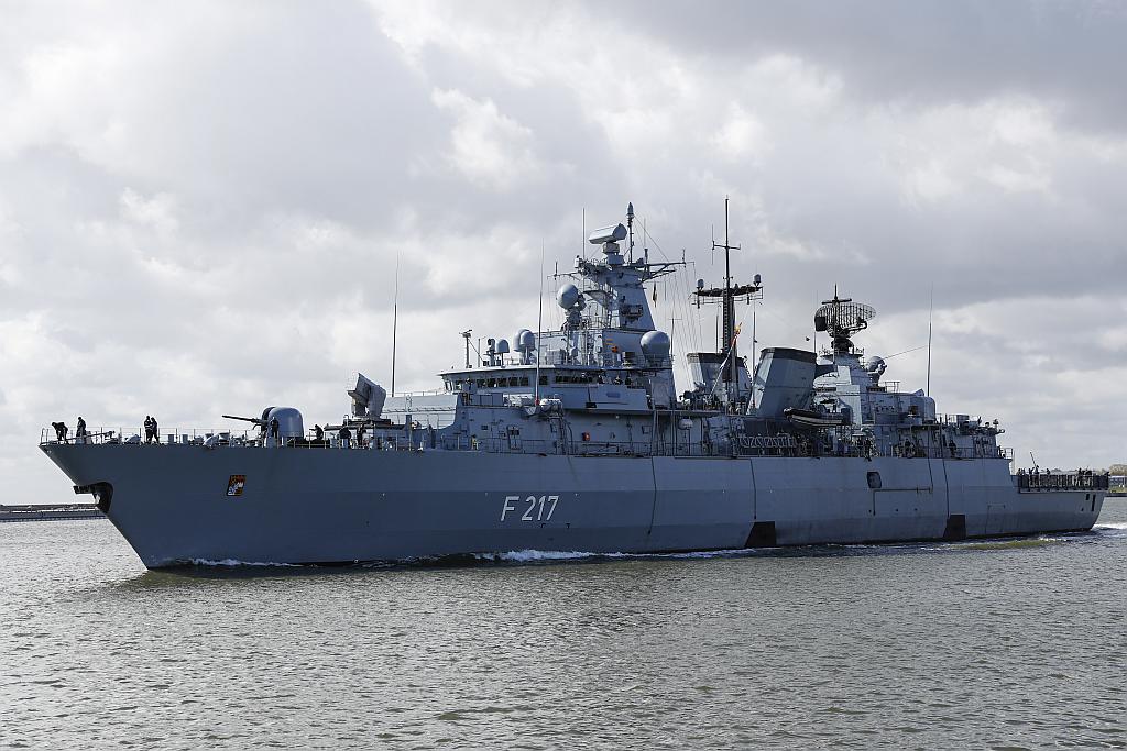 """Die Fregatte """"Bayern"""" auf dem Weg in den Indopazifik"""
