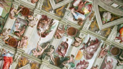 Michelangelo: Ausdauer führt zu Großartigkeit