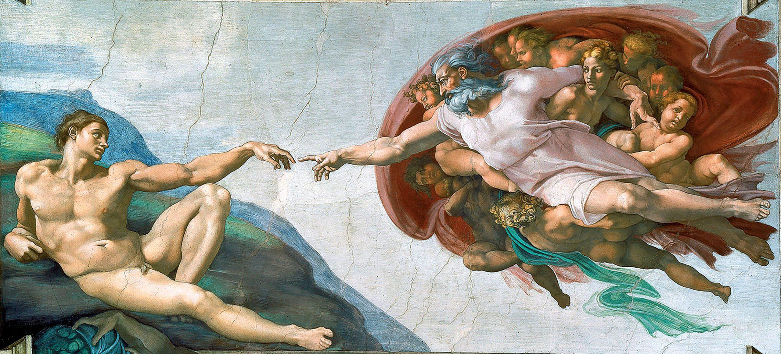 """""""Die Erschaffung Adams"""" und das Königreich im Inneren"""