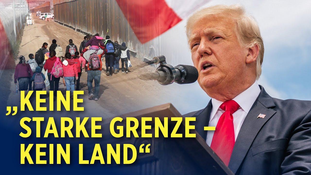 Zu Besuch an der Südgrenze der USA: Trump betont Wichtigkeit der Grenzmauer