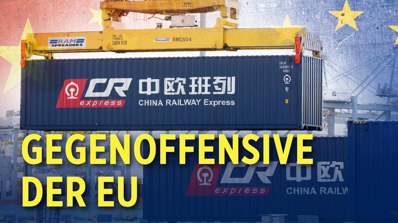 EU will Chinas Neuer Seidenstraße mit Gegenoffensive begegnen