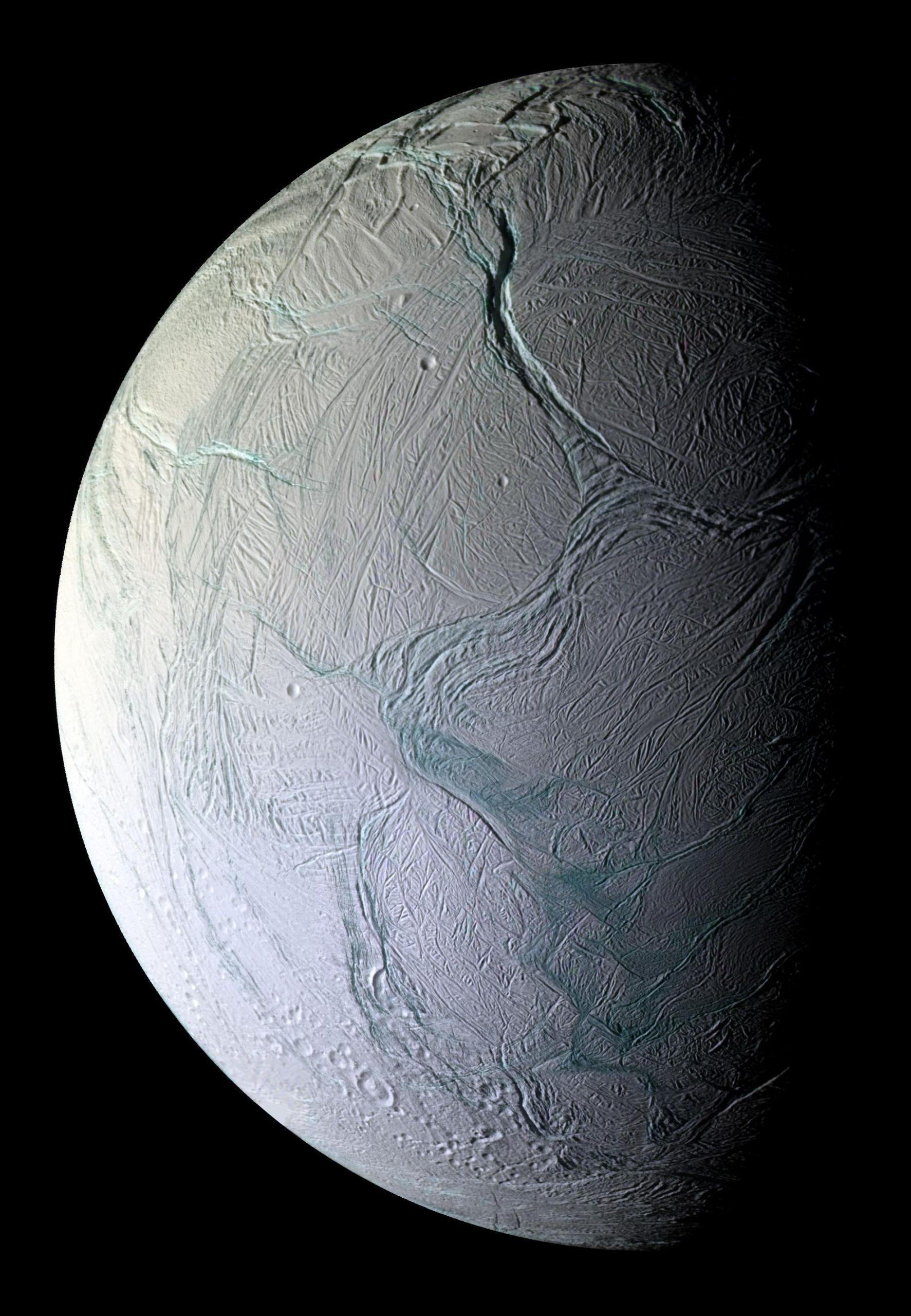 Satellitenbild von Enceladus