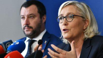 Fidesz, FPÖ, Lega, PiS, RN und weitere Parteien bilden neues konservatives Bündnis im EU-Parlament
