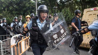 Hongkongs Polizei ermittelt nach China-kritischen Gesängen von Olympia Fans