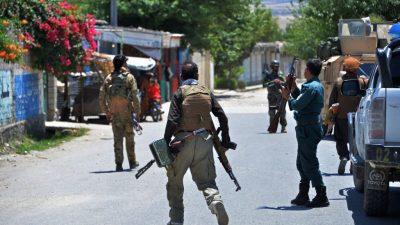 Hunderte Taliban-Kämpfer bei Gefechten mit afghanischer Armee getötet