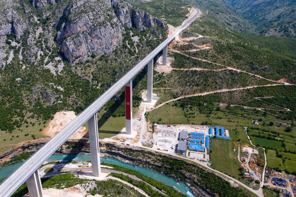 800 Millionen Euro teure Autobahn bringt Montenegro in chinesische Schuldenfalle