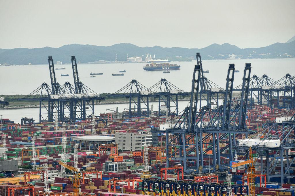 Schiffs-Stau in China behindert massiv globale Güterströme