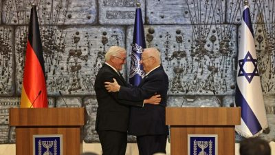 Steinmeier würdigt in Jerusalem deutsch-israelische Freundschaft