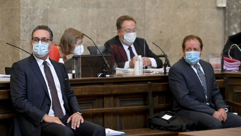 Ibiza-Affäre: Erster Strafprozess gegen Österreichs Ex-Vizekanzler Strache begonnen