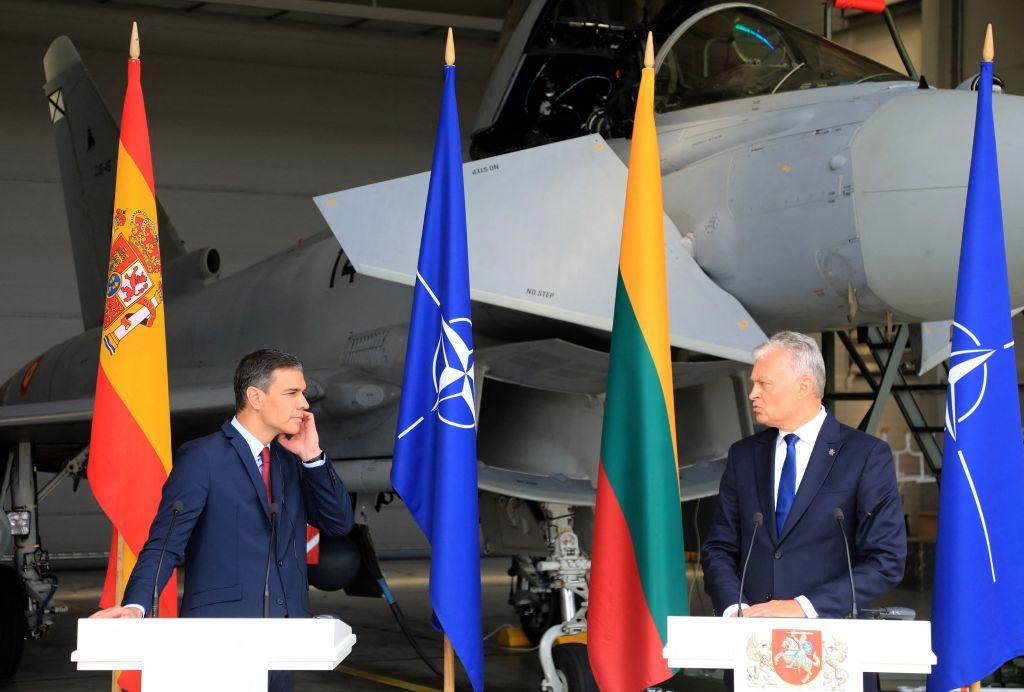 Abfangflug gegen russische Kampfflugzeuge führt zu Pressekonferenz-Unterbrechung