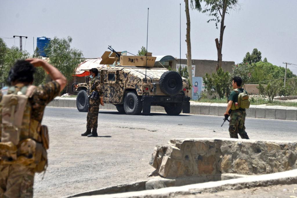 Flughafen von Kabul nach Taliban-Erfolgen mit Raketenabwehrsystem aufgerüstet