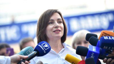 Republik Modau wählt proeuropäisch – Rund 53 Prozent für Präsidentin Sandu