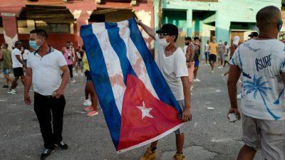 Nach regierungskritischen Protesten in Kuba – Zahlreiche Vermisste und ein Toter
