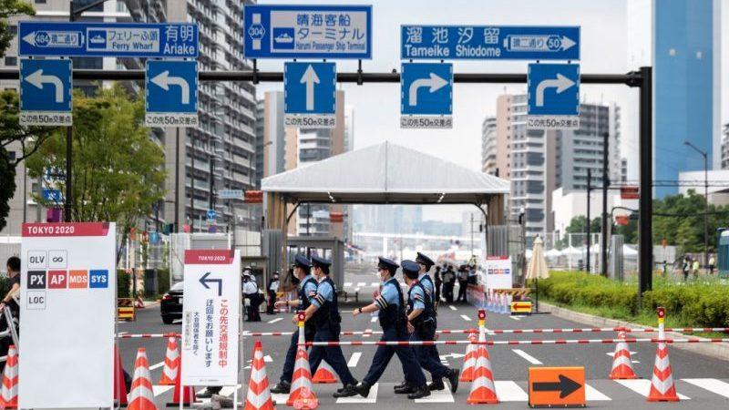 Olympia in Tokio: Außergewöhnliche Tage mit stark eingeschränkter Bewegungsfreiheit