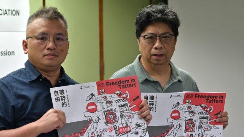 Pressefreiheit in Hongkong hat sich laut Journalistenverband massiv verschlechtert