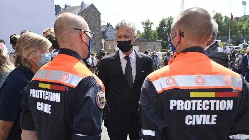 Staatstrauertag in Belgien zum Gedenken an Opfer der Überschwemmungen