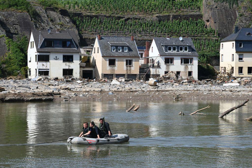 Experten äußern Bedenken gegen Wiederaufbau in Hochwasser-Gebieten