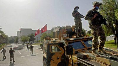 Bundesregierung fordert schnelle Rückkehr zu verfassungsmäßiger Ordnung in Tunesien