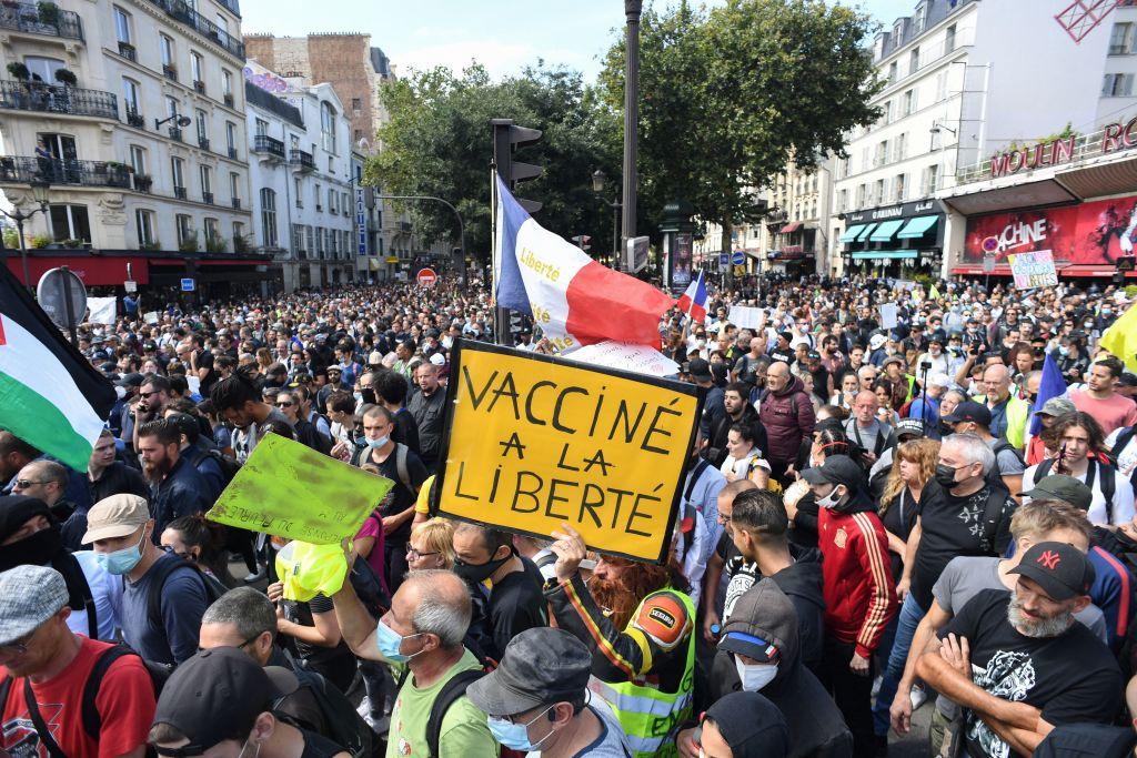 """""""Unsere Freiheit ist in Gefahr"""": Proteste in ganz Europa"""